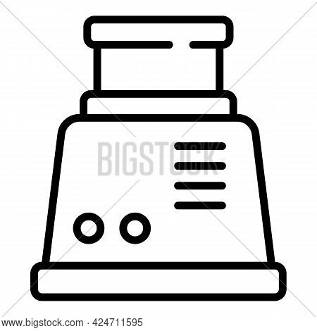 Cooker Hood Icon. Outline Cooker Hood Vector Icon For Web Design Isolated On White Background