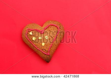 heart cookie poster