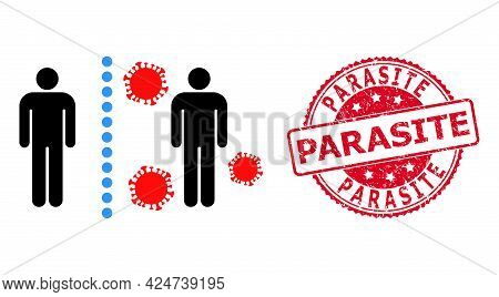 Virus Shield Wall Icon On A White Background. Isolated Virus Shield Wall Symbol With Flat Style.