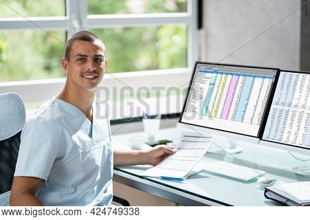 Account Manager In Office Coding Medical Bill