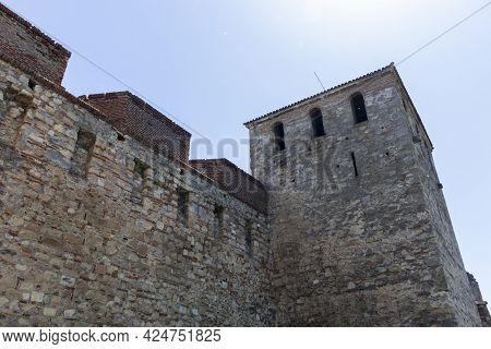 Medieval Baba Vida Fortress In Town Of Vidin, Bulgaria