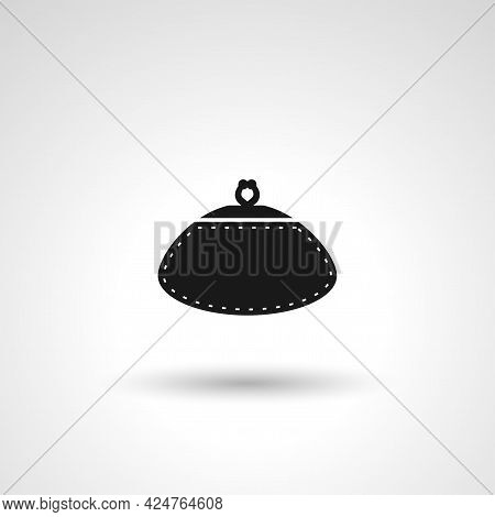 Woman Purse Sign. Purse Isolated Simple Vector Icon