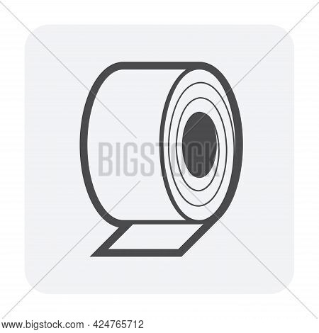 Steel Roll Icon
