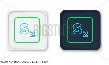 Line Bingo Icon Isolated On White Background. Lottery Tickets For American Bingo Game. Colorful Outl