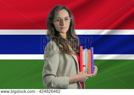 Librarian Day In Gambia. Book Day In Gambia. Celebrating International Librarian Day.