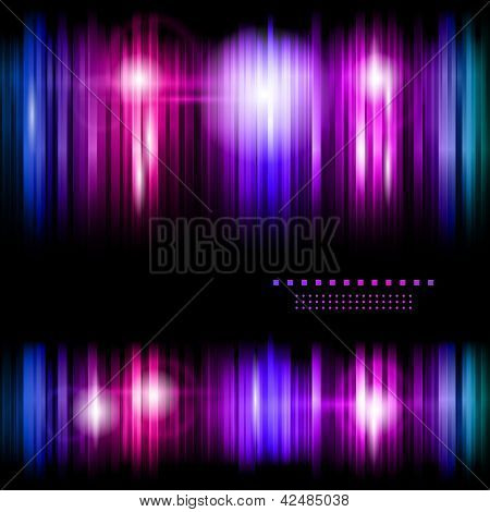 Colorful strips abstract background eps10 vector illustration poster