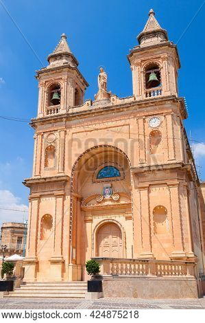 The Church Of Our Lady Of Pompei Exterior. It Is A Roman Catholic Parish Church Located In The Fishi