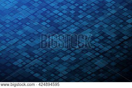 Technology Digital Abstract Background. Grid Core. Big Data Digital. Futuristic Information Technolo
