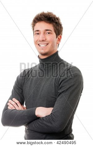 Smiling Casual Guy