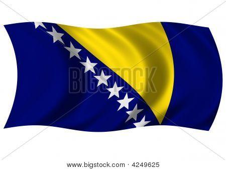 Bosnia & Herzegovina - Flag Of