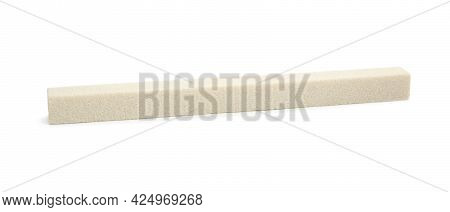 Sharpening Stone For Knife Isolated On White