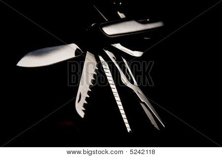 steel penknife