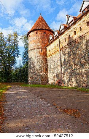 Castle In Bytow, Poland