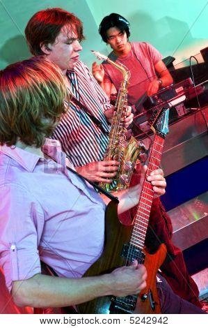 Live Performance In A Nightclub