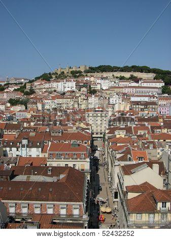 Lisbon From High
