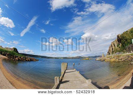 Pier at Inchcolm