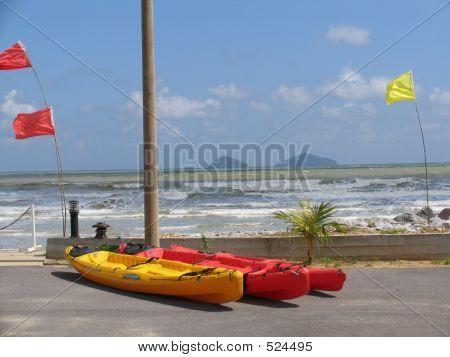 Beach Kayak