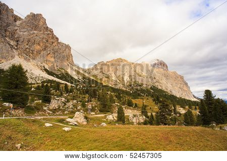Dolomites, Cima Del Passo. Falzarego
