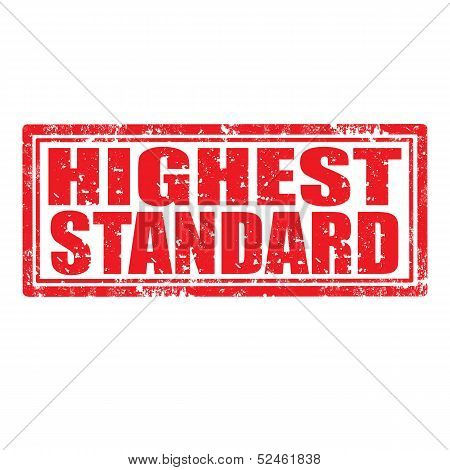Highest Standard-stamp