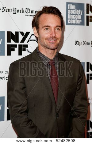 NEW YORK- OCT 8: Actor Will Forte attends the