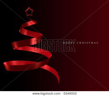 Elegant Christmas Tree Greeting