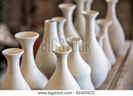 Shelve With Ceramic Dishware