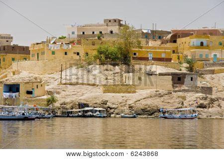 Boats On Lake Nasser