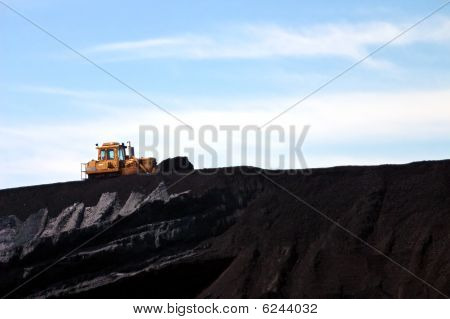 Power Plant Coal Dozer