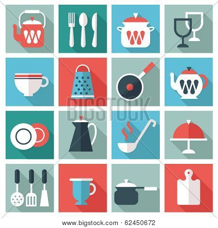 kitchen utensil icons