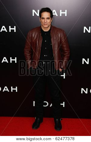NEW YORK-MAR 26: Actor Yul Vazquez attends the premiere of