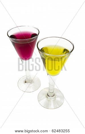Two Liquor Cups