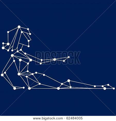 Virgo Zodiac Sign. All Signs Illustration Available In Portfolio.