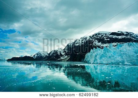Glacier Bay in Mountains in Alaska United States poster