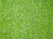 Artificial turf japan green as a background poster