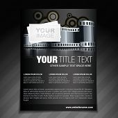 vector photography flyer brochure poster and magazine cover poster