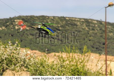 Radio Controlled Helicopter Model Hobby