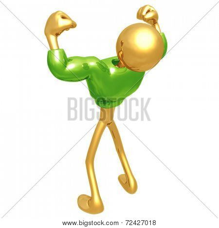 Green Muscle Suit poster