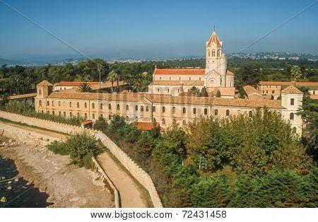 Abbey On The Ile Saint Honorat
