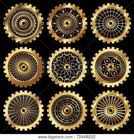 the gears