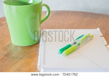 Simple Work Table Of Freelance