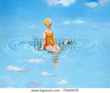 Water Noon