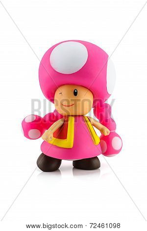 Toadette Figure Character