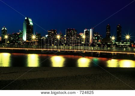 Nightime San Diego