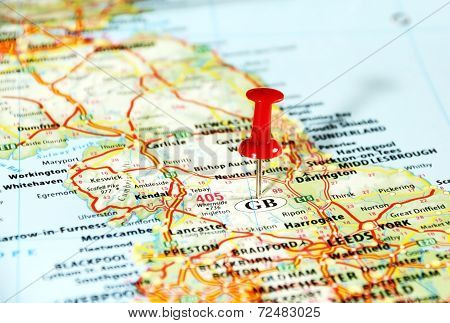 Gb England    Map Pin