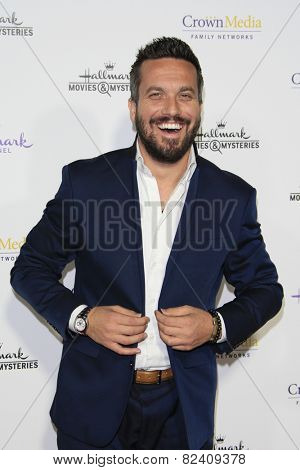 LOS ANGELES - JAN 8: Fabio Viviani at the TCA Winter 2015 Event For Hallmark Channel and Hallmark Movies & Mysteries at Tournament House on January 8, 2015 in Pasadena, CA