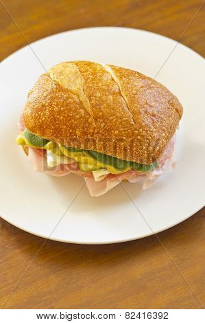 Ciabatta Roll Sandwich