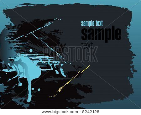 Splash abstract  background with place for your text
