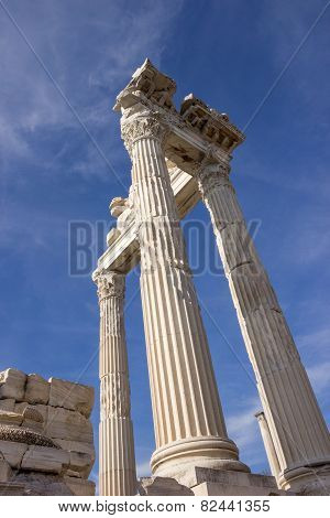 Columns Trajan Temple