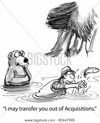 Transfer Out of Acquisitions