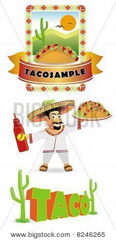 Mexican food, TACO